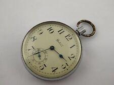 Vintage Mechanical Bentima Pocket Watch for Parts Steampunk