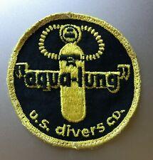 vintage 60s 70s AQUA-LUNG u.s. divers co SCUBA PATCH