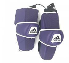 Custom Lacrosse Adidas Freak Flex Arm Guard Arm Pads Purple White New Size Xl