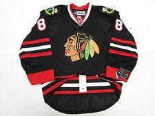 KANE CHICAGO BLACKHAWKS AUTHENTIC THIRD BLACK REEBOK EDGE 2.0 7287 HOCKEY  JERSEY c675a2bca
