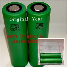 2 Sony VTC4 18650 2100mAh 30A High Drain Rechargeable Battery Flat Top Free Case