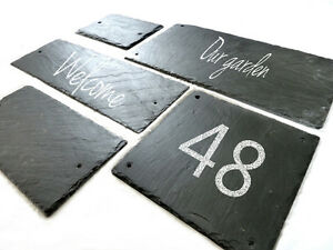 slate signs, BLANK plaques, rustic decor, pre-drilled holes, custom size handcut