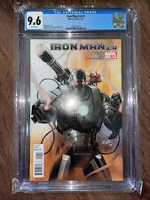 CGC 9.6 Iron Man 2.0 #1 War Machine