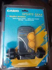 Vintage Casio Sports Gear Am/Fm Stereo Radio,Pr-80, New