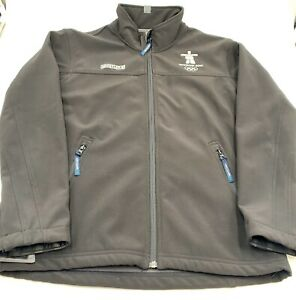 Official 2010 Vancouver Winter Olympics Whistler Elevate Zip Jacket Size Small