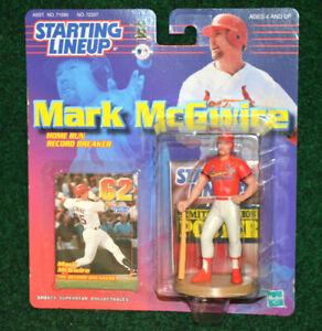 St. Louis Cardinals Mark McGwire Homerun Record 1999 Starting Lineup Figure