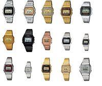 Casio orologio uomo donna unisex crono vintage illuminator gold classico  2014