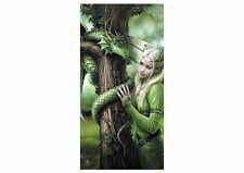 Licensed Anne Stokes Kindred Spirits Fairy Angel Velour Beach Towel 75cm x 150cm