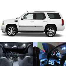 LED White Lights Interior Package Kit For Cadillac Escalade 2007-2009