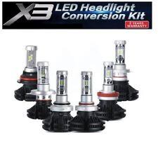 KIT x3  LED H4 6000K  5S 12000LM CANBUS HEAD LIGHT 12V-24V  luminose