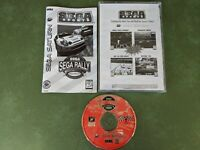 Sega Rally Championship (Sega Saturn, 1995) with manual disc works