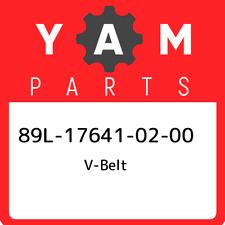 89L-17641-02-00 Yamaha V-belt 89L176410200, New Genuine OEM Part