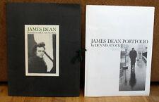 Dennis Stock James Dean Portfolio 12 Prints Slipcase Times Square New York City