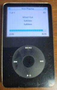 Apple iPod Black 60 GB A1136, TESTED