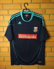 Stoke City football shirt 2010-2011 Away jersey soccer Adidas Formotion Size XL