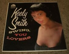 Swing, You Lovers Keely Smith~1960 Easy Listening Jazz~VG++ Vinyl~FAST SHIPPING!
