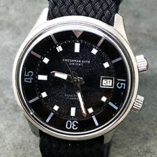 Serviced Vintage Orient Freshman King Diver Automatic Date Watch 42mm