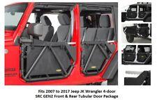 Jeep SRC GEN2 Front and Rear Tubular Doors for 07-17 Jeep JK Wrangler 4-door