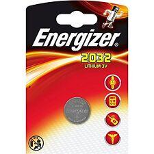 4 x Energizer Batterie CR2032 Lithium 3V Knopfbatterie CR 2032 Battery NEW