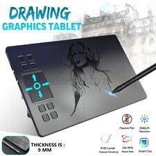 "VEIKK A50 10x4"" Grafiktablett USB Digital Drawing Tablet Zeichentablet + Stift"
