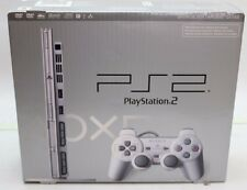 NEW Sony PlayStation 2 Slim Launch Edition Satin Silver Console (SCPH-79001SS)