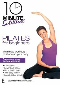 10 Minute Solution - Pilates For Beginners DVD R4 New Sealed