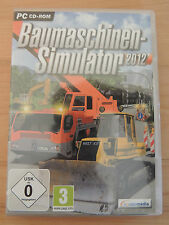 BAUMASCHINEN SIMULATOR 2012 *PC*
