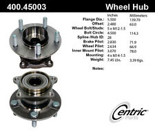 Centric Parts 400.45003 Rear Hub Assembly