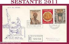 VATICANO FDC FILAGRANO 1967 CENTENARIO MARTIRIO SS. PIETRO E PAOLO (327)