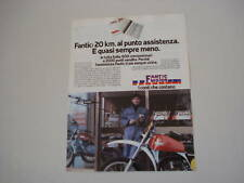 advertising Pubblicità 1978 MOTO FANTIC MOTOR
