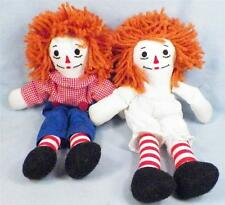 Raggedy Ann & Andy Dolls Cloth Hand Made in 1993 Adorable