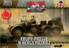 First to Fight 050 Krupp Protze in Polish version scale 1/72