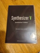 Synthesizer V vocal synthesis engine (Used physical box)
