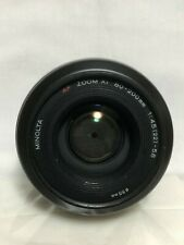 【AS IS】Minolta AF ZOOM xi 80-200mm f/4.5-5.6 Lens For Sony Alpha From Japan