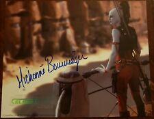 Michonne Bourriague Aurra Sing Autograph Official Pix 8x10 Star Wars Photo CII