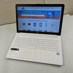 """HP Laptop 15-da0037nr i3-7020U 2.30GHz 4GB RAM 1TB HDD 15.6"""" 1366x768 Win10H"""