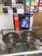 Rear Brake Discs (pair) For Nissan Primera WP12 1.6 02-06 & Nissan Almera TINO