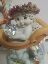 Dreamsicles Smooth Sailing Angel Cherub Limited Ed 10th Anniv. Figurine Rare Ln
