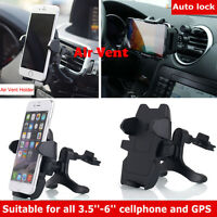 360° Car Air Vent Mount Holder Cradle Stand Universal for Cell Phone iPhone GPS