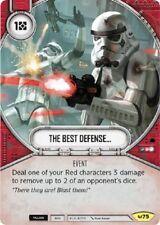 1X The Best Defense... (#75) -NM- Uncommon - Star Wars Destiny Awakenings
