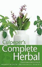 Culpeper's Complete Herbal: A Book of Natural Remedies for Ancient Ills