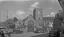 B/W Negative Lynton Devon 1946 Village Scene +INC © DB1469