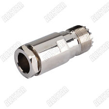 UHF jack Female clamp straight SO239 connector for RG8 RG165 RG213 LMR400 cable