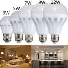 Smart LED E27 5W 7W 9W 12W Emergency Light Bulb Rechargeable Intelligent Lamps H