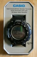 Casio Triple Sensor Mens Watch SGW1000-1ATN Compass Thermometer Altimeter AB NEW