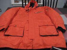 MENS CINCINNATI BENGALS Mitchell & Ness Parka fur lined Jacket HOOD 60 4XL NWT