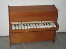 ANCIEN PIANO JOUET CONCERTO EN BOIS - VINTAGE MUSIQUE PIANO DROIT NO MICHELSONNE