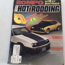 Popular Hot Rodding Magazine Edelbrock's Fuel Injection July 1979 070517nonrh