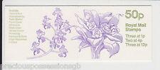 GB QEII MNH FOLDED Stamp Booklet FB29 CYL B27 B7 B8 ORCHIDS # 3 BIFRENARIA