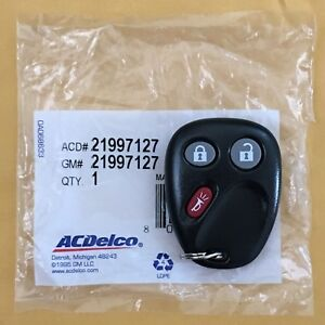 2006 Chevrolet Silverado GMC Sierra Keyless Remote Key Entry Fob LHJ011 OEM